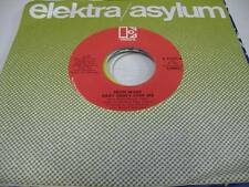 Soul Unplayed NM! 45 LEON WARE Baby Don't Stop Me / Don't Stay Away on Elektra