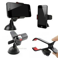 Windshield Clip Shape Car Mount Holder Stand for iPhone 5S 5G 4S 4 3GS ipod