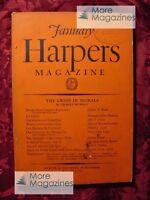 HARPERs January 1930 GILBERT MURRAY STELLA BENSON MARGARET CULKIN BANNING +++