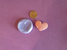 Sweet Heart Silicona mould/mold de polímero de arcillas, alimentos, Jabón, metales preciosos de arcilla.