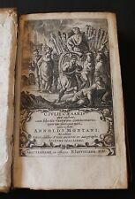 CAESAR, GAIUS JULIUS. [The Commentaries]: Venice, Elzevir, 1661.