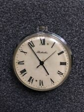 VINTAGE Rare pocket watch RAKETA USSR Russia made mechanical