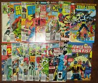 Marvel Bronze Copper Age Lot Spider-Man Ghost Rider Avengers Master of Kung Fu