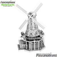 Metal Earth Windmill 3D Laser Cut DIY Model Hobby Build Building Kit Puzzle