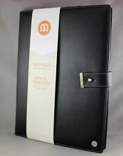 "STAPLES A4 PADFOLIO ""GENUINE SOFT LEATHER""- BRAND NEW/SEALED"