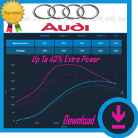 Audi | ECU Map Tuning Files | Stage 1 + Stage 2 | Remap Files Chip Tuning
