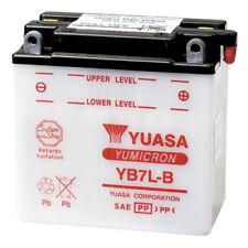 NEW 12V8AH 124CCA YUASA Motorcycle Battery YB7L-B