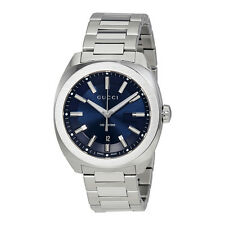 Gucci GG2570 Blue Dial Mens Watch YA142303