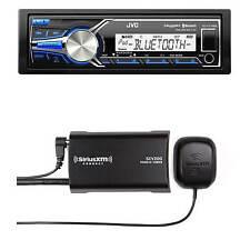 KDX35MBS JVC Bluetooth USB AUX Marine Receiver, Sirius XM Satellite Radio Tuner