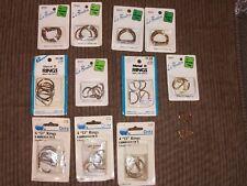 Lot 10 pack Le Bouton Dritz Metal D-Rings 1