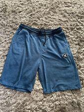 Vintage Hurley sweat shorts Size Large Blue Mens