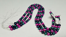 """8-10mm Freshwater Pearls For Jewelry Making Restringing Beads 16"""" Strands(3)New"""