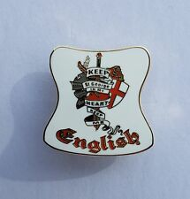 English Keep St George In My Heart Badge Enamel Pin Badge Oi! England