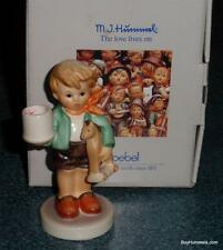 Boy With Horse #117 Goebel Hummel Candle Holder TMK6 From 1987 With Original Box