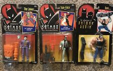 Batman Animated Series Lot From Kenner: Joker Bane Two Face