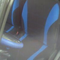 Hot 9pcs Universal Car Seat Cover Dustproof Seat Protectors Full Set BLUE~