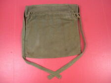WWII US Army Medical Corps Nurses Red Cross HBT OD Green Apron - Nice Condition