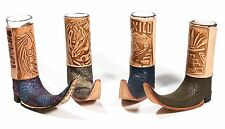 Mexican Leather Mini Boot Tequila Shot - Original Artisan 1 pc (Assorted Colors)