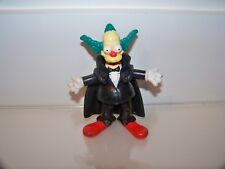 The Simpsons Krusty The Clown 2001 Burger King Spooky Light-Ups Dracula Figure