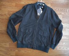 Levi's Made & Crafted | SUEDE BOMBER JACKET men's sz 4 / XL - navy $998