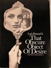 1977 Luis Bunuel OBSCURE OBJECT OF DESIRE Hollywood Movie Press Kit