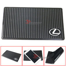 Dashboard Anti Slip Non Slip Sticky Pad Mat Phone Mounts Holder PU For Lexus