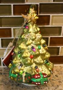 New Pottery Barn LIT CHRISTMAS TREE Christmas Holiday Ornament