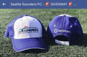 Seattle Sounders Baseball Cap Hat SGA Brand NEW! 7/25/21