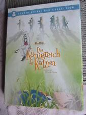 DVD - Das Königreich der Katzen - Doppel DVD + 5 Karten - STUDIO GHIBLI