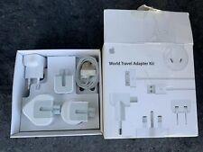 Apple World Travel Adapter Kit International Plugs MB974ZM/B UK Australia Japan