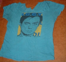 IGGY POP BLAH BLAH BLAH LIMITED EDITION SHIRT 1987; modified as shown