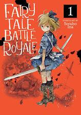 Fairy Tale Battle Royale Manga Volume 1 English Paperback New Graphic Novel