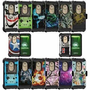 For Motorola Moto G7 Play XT1952 Triple Layer Case - Cool Designs