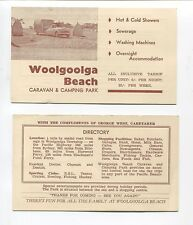 Advertising Flyer Woolgoolga Beach Caravan & Camping Park