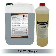 BTT-BI 2K Bodenbeschichtung farbig 1,25 kg Epoxidharz, RAL 7001, bis zu 5m²