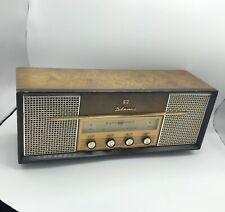 Vintage 1960s JVC Delmonico AM/FM Radio - Model TMF-99U - Tested / Working