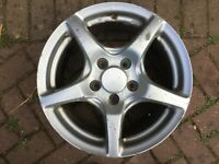 "HONDA S2000 AP1 16"" 5 SPOKE ALLOY WHEEL GENUINE OEM PART #2"