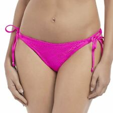 ca31bc2df37 Freya Sundance 3975 Rio Tie Side Bikini Briefs Bottoms XS S M L XL Swimwear  L Hot Pink