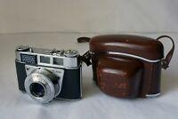 Kodak Retinette IB - Type 045 w/ Rodenstock Reomar 45mm f2.8 Lens Case Germany