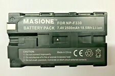 Akku für Sony NP-F330 2500 mAh 18.5Wh Li-ion F530 F550 F730 F770 F930 F970