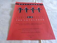 KRAFTWERK - - Publicité de magazine / Advert ! THE CATALOGUE - francais !!!