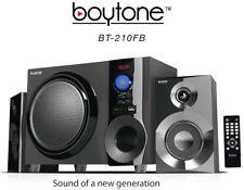 Boytone Bt210fb Black 2.1 Multimedia Speaker System