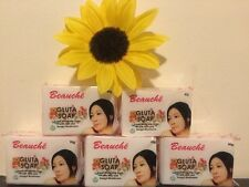 5 X BEAUCHE INTERNATIONAL GLUTA SOAP SUPER WHITENING LOT OF 5 SOAPS