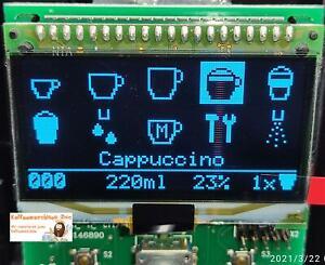 Ersatz Display Modul für Nivona Display EF691 EF 0069348 NICR 83x/84x/85x - Blau