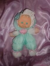 Vintage Puffalump Kids Doll Merri Sherri Green Fisher Price Floppy