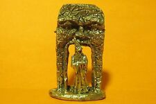 Pewter Wizard Standing In Monster Castle Door