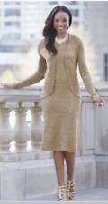 plus sz 18W Maisey Jacket Dress gold metallic shimmer by Ashro new