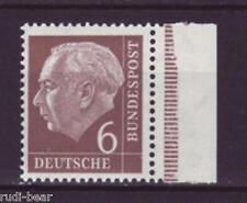 Bund Nr.   180  **  Bundespräsident Prof. Dr. Theodor Heuss  mit Rand