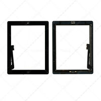 Pantalla Tactil Digitalitador Ipad 4 con Botton Home Negra  A1458  A1459 A1460