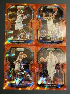 2020-21 Prizm Basketball RED ICE PRIZMS You Pick with Free Shipping
